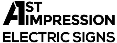 A First Impression Electric Signs
